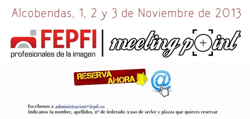 FEPFI Meeting Point 2013, 1, 2 y 3 de noviembre en Alcobendas - Madrid