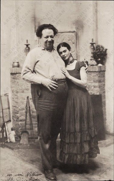 09 Frida con Diego Rivera